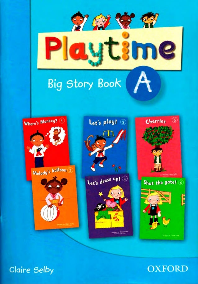 playtime A - story book