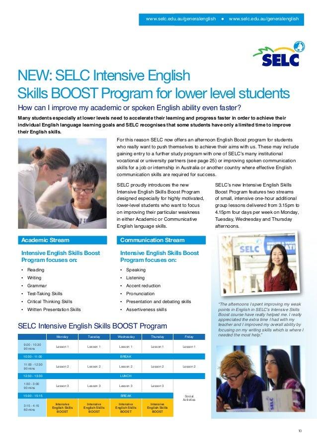 Intensive Language Programs