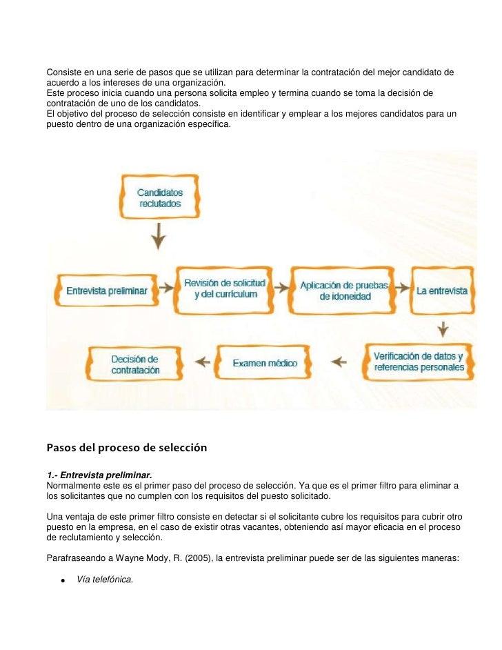 AD0010_M1AA1L3_Selección          Consiste en una serie de pasos que se utilizan para determinar la contratación del mejor...