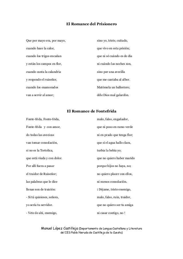 Manuel López Castilleja (Departamento de Lengua Castellana y Literatura del IES Pablo Neruda de Castilleja de la Cuesta) E...