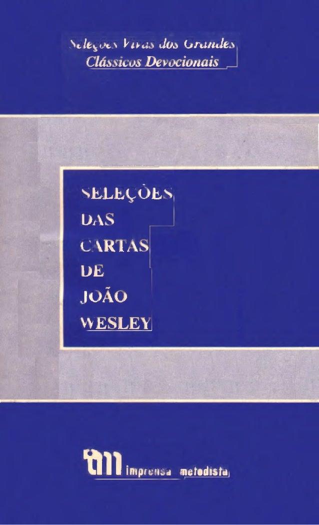 Selecoes das cartas_de_joao_wesley