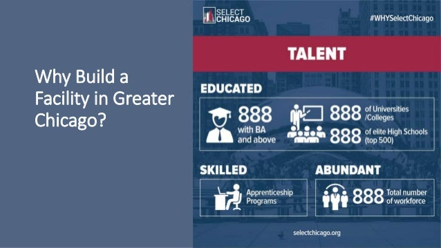 Why Build a Facility in Greater Chicago?