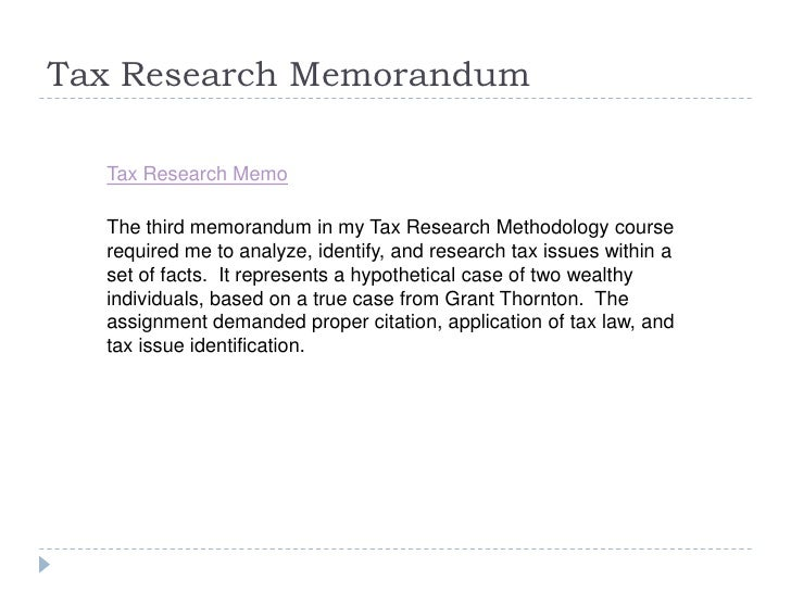 acct 429 week 3 research memorandum Acct 429 week 7 research project follow below link to memorandum, taxpayers, compose acct 429 devry week 3 research project.