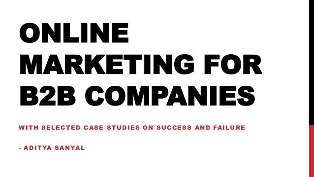 Case studies on successful online marketing strategies by