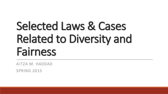 relationship diversity and the law