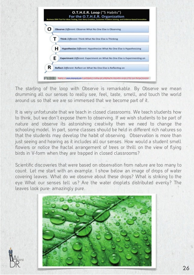 DR. NANI LI A The ball-like water drops do not flow on the leaves like water does on a wooden surface. Why is that? How com...