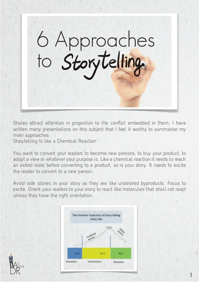 Use of Story Attractors You need to understand the attractors to which your readers, customers, business partners or prosp...