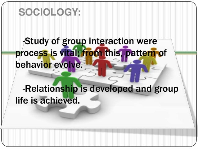 subject object relationship sociology