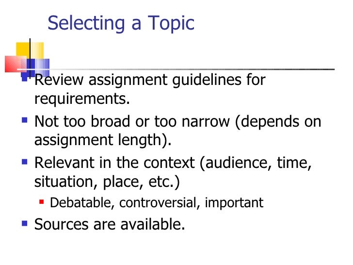 Selecting And Narrowing Research Topics Slide 2