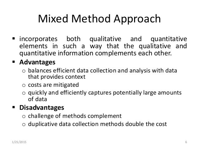 using mixed method both qualitative Using both quantitative and qualitative methods using both quantitative and qualitative methods order instructions many clinical practice issues are sufficiently.