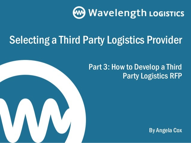 outsourcing distribution to a third party Over the last twelve months i've had more and more conversations with companies that are considering outsourcing distribution to a third party logistics provider (3pl).