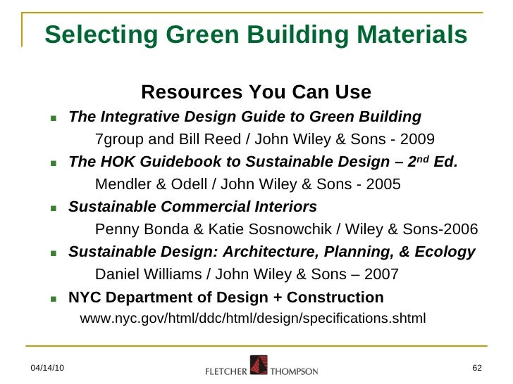 federal green construction guide for specifiers Approved by federal green construction guide for specifiers as a green building product federal green construction guide for specifiers.