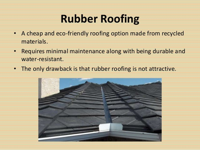 Selecting the best roofing material for Low cost roofing materials