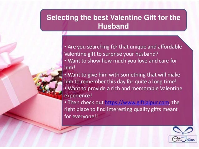 selecting the best valentine gift for the husband