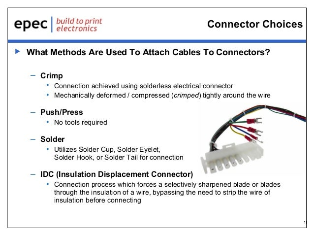 Selecting The Proper Cable Assembly For Your Application