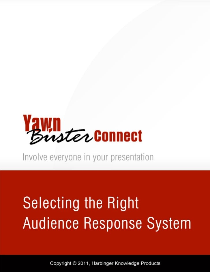 TABLE OF CONTENTS             ALL ABOUT AUDIENCE RESPONSE SYSTEM (ARS)………………………….…………………..….3             USAGE OF AUDIENC...