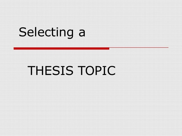 Expository Essay Thesis Statement How To Choose A Thesis Topic James Hayton Phd Domov Gen Week Thesis  Statement And Informal Examples Of Proposal Essays also Causes Of The English Civil War Essay Academic Counseling Cover Letter Sample Essay On Mother Tongue  Simple Essays In English