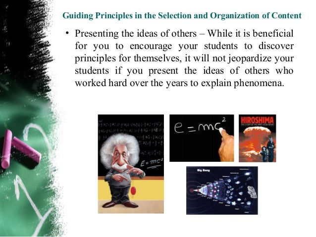Guiding Principles in the Selection and Organization of Content• Emphasizing conceptual understanding – Many a  time, our ...