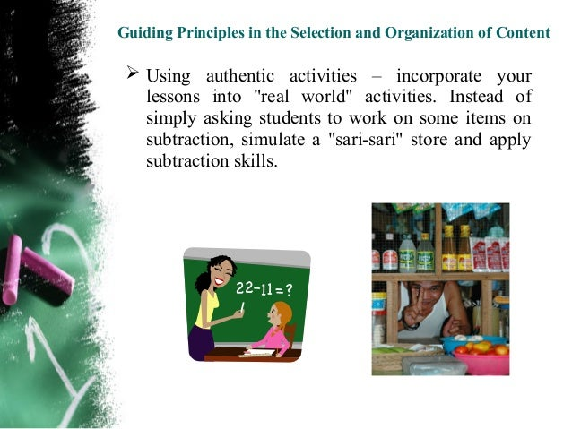 selection and organization of content Selection and peer-review under responsibility of the organizing committee of  the  andpresented as criteria for the appropriateness of content selection.