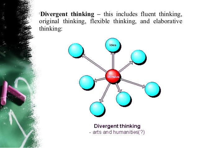 The Structure of Subject Matter Contentelaborative thinking – embellishes on previous ideas  or plans. (Torres, 1994) It u...