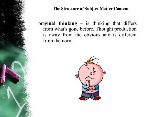 The Structure of Subject Matter Content     Problems can be solved by using an algorithm ora heuristic strategy. Solving a...