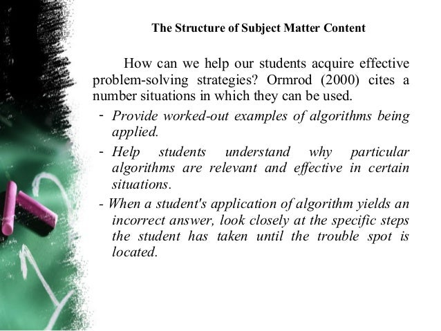 The Structure of Subject Matter Content Metaphoric thinking – This type of thinking uses  analogic thinking, a figure of ...