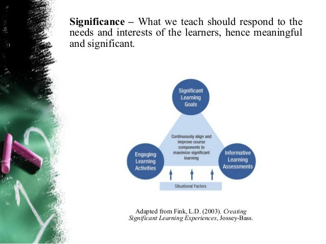 Guiding Principles in the Selection and Organization of ContentBalance – Content includes not only facts but also  concept...