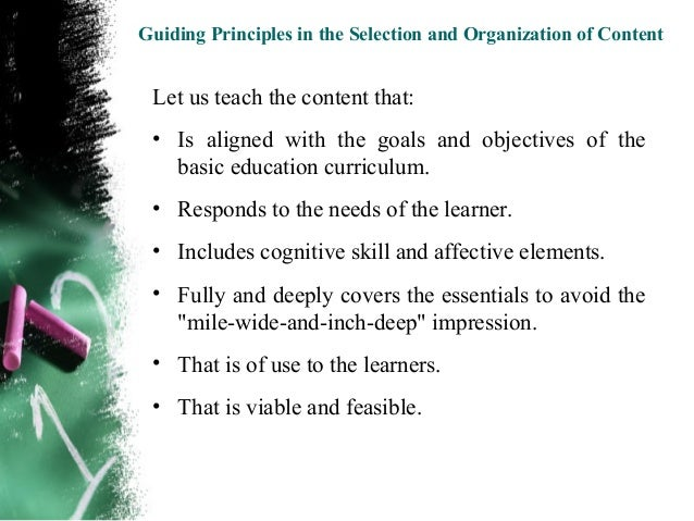 To view and download a copy of the presentation, go to:http://www.scribd.com/doc/8671407/Selection-and-Organization-of-Con...