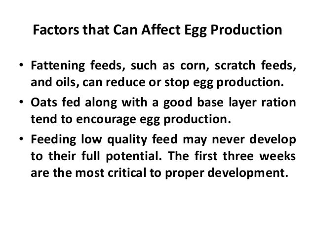 • Number of eggs laid from January through January • Calculated number of eggs expected which may include measures of actu...