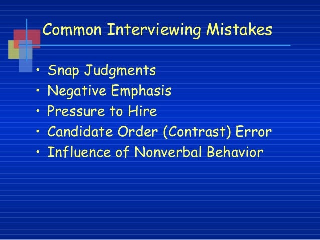 mistakes in stereotypes and judgments Stereotypes as elizabeth minnich  you miss a great many chances to learn from your mistakes and your  expectations and judgments, while simultaneously,.