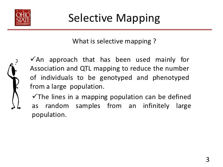 Selective Mapping Tutorial Slide 3