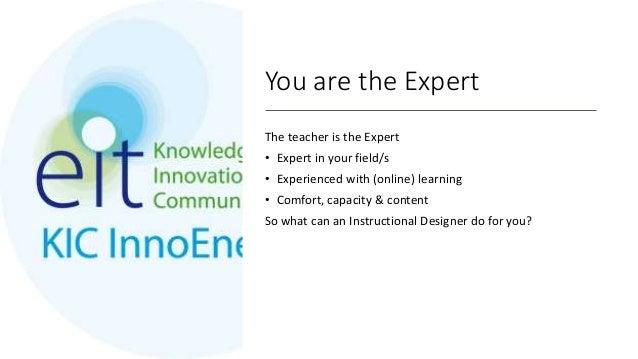 How can an Instructional Designer help? Slide 3