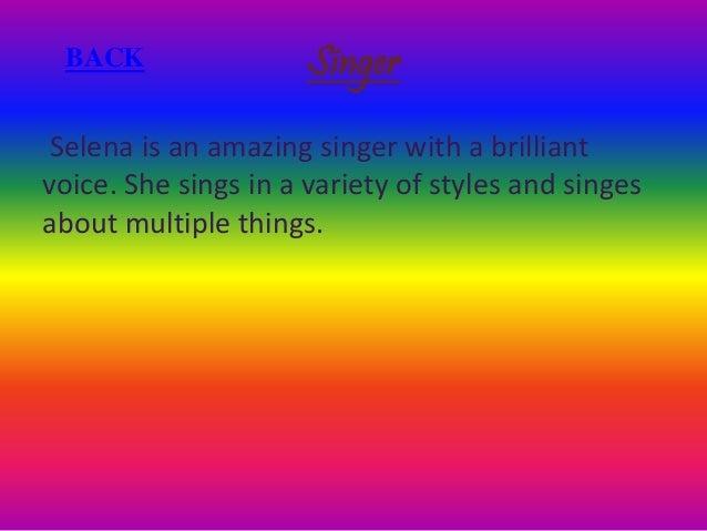 Selena Gomez by Phoebe M & Beulah Slide 3
