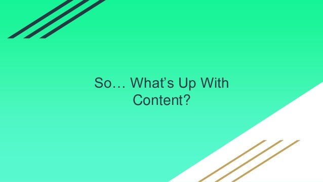 Using Data & Recon to Build Evergreen Content Strategies Slide 2