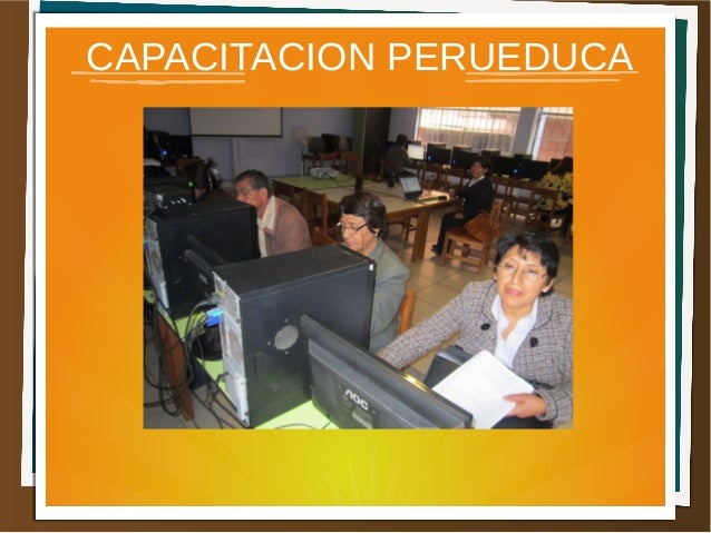 CAPACITACION PERUEDUCA