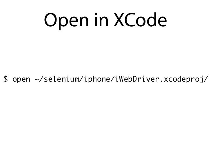 "The Code:# Import the Selenium 2 namespace (aka ""webdriver"")from selenium import webdriver# Run one of the four following ..."