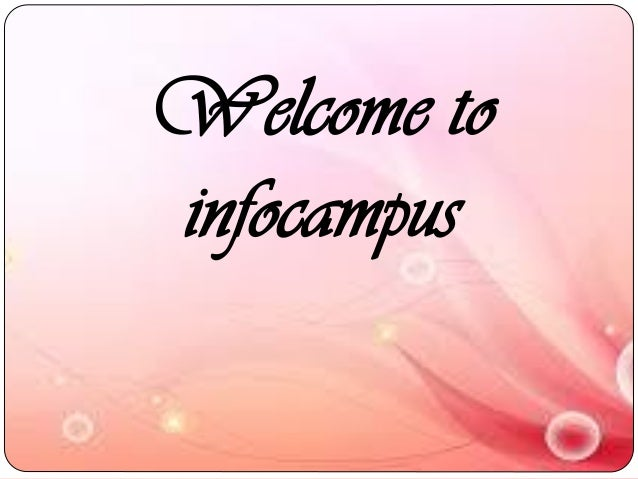 Welcome to infocampus