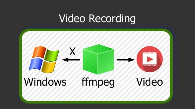 Video Recording Windows ffmpeg Video X
