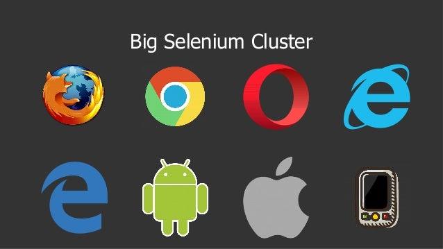 Big Selenium Cluster