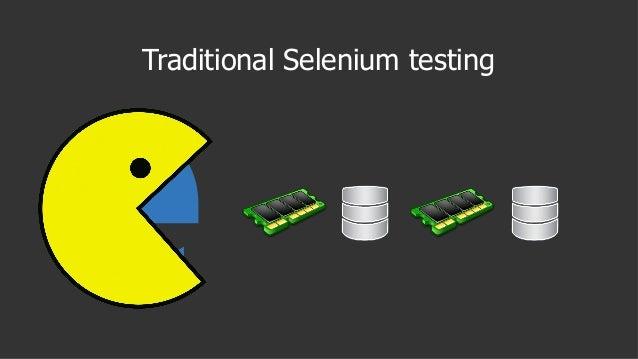 Traditional Selenium testing