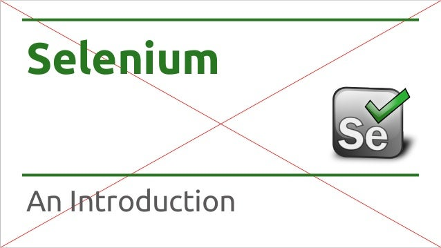 Selenium An Introduction