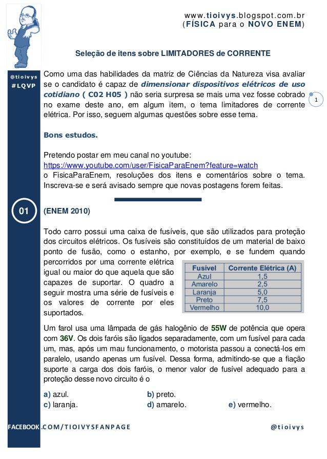 www .t io ivys .bl ogsp o t.co m .br                                                         ( F ÍSICA par a o NO VO EN EM...