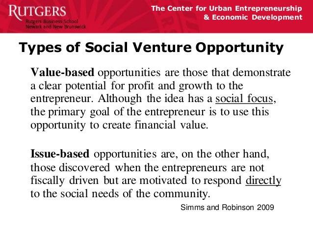 Presentation on Social Entrepreneurship-BrownSchool
