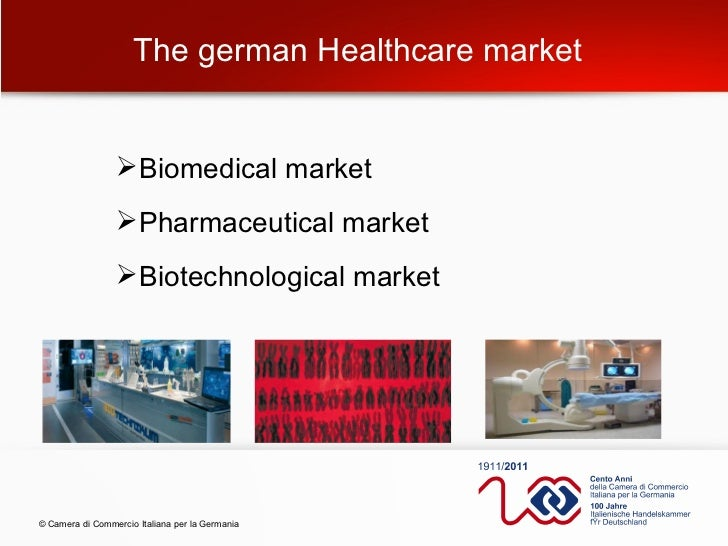 german healthcare Health care in germany, including its industry and all services, is one of the largest sectors of the german economy direct inpatient and outpatient care equivalent to just about a quarter of the entire 'market' – depending on the perspective.