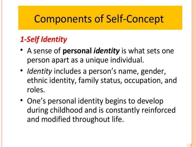 william james concept of self and the four differentiations of self A biblical and psychological comparative study of self-concept  by   william james says: whenever two people meet there are really six people present .