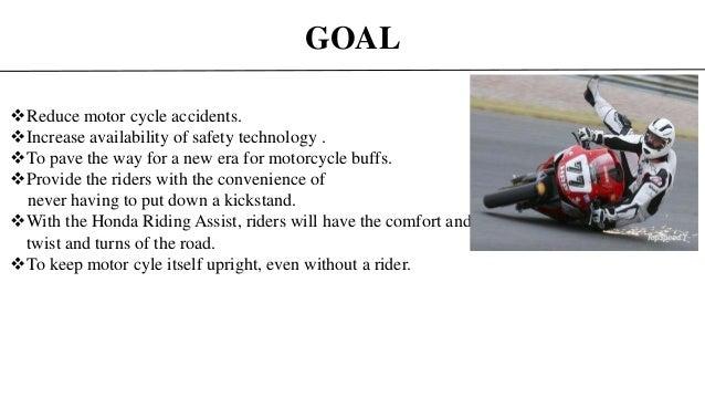 self balancing vehicle (honda's riding assist technology)