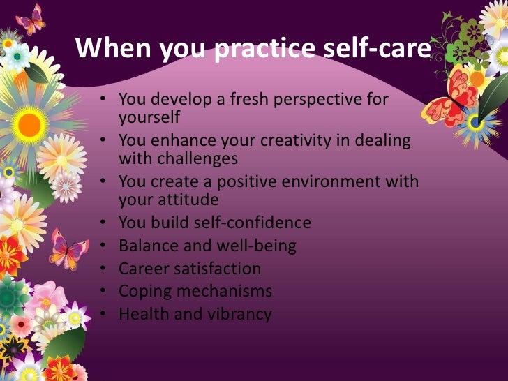 Self Care Presentation