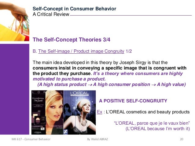 self image and consumer behavior Ibima business review 2 personality of a brand and the consumer's self- image  on his behavior more precisely, we will evaluate the effect of this congruence.