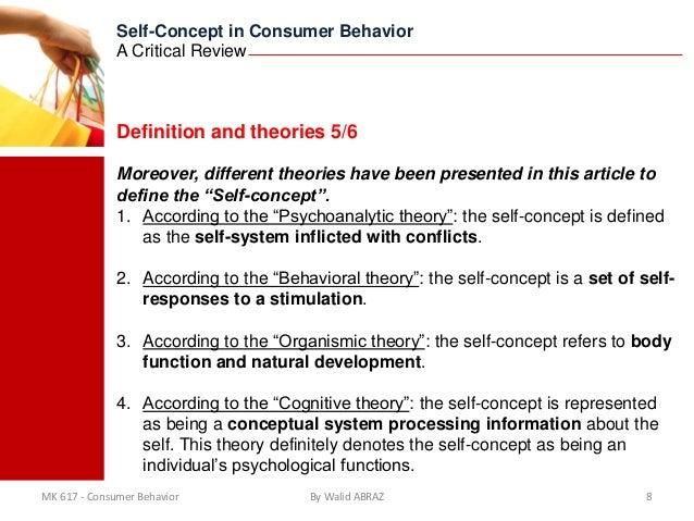 The self in consumer behaviour