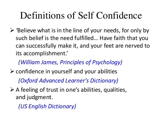 how to find self confidence
